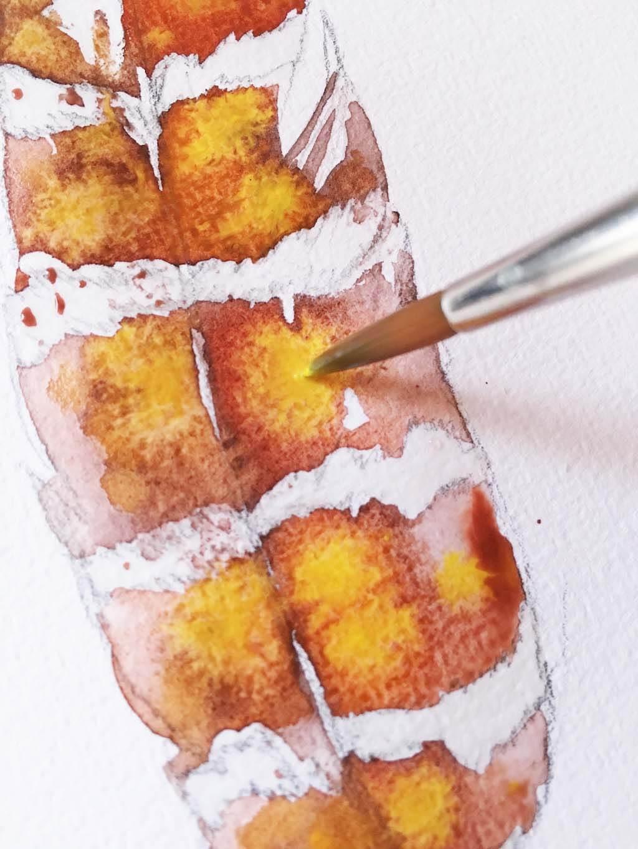 malen: Feder ganz einfach aquarellieren