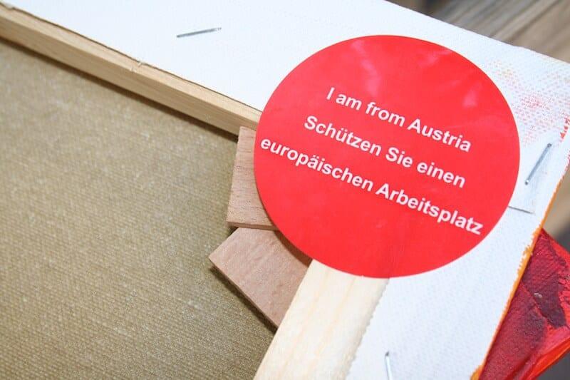 Hier siehst du das Gütezeichen aus Österreich