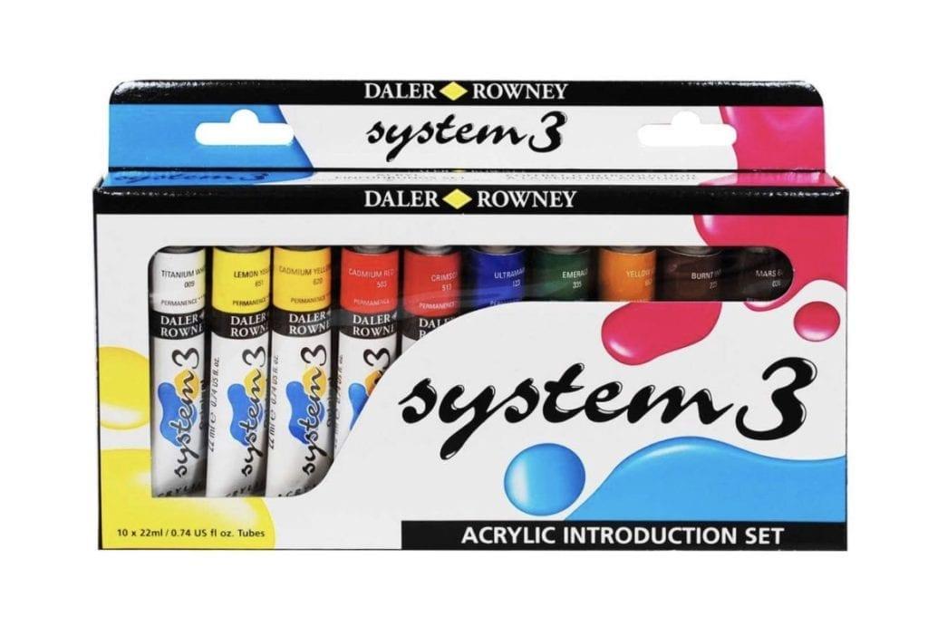 Du siehst Acrylfarben System 3 von Daler Rowney
