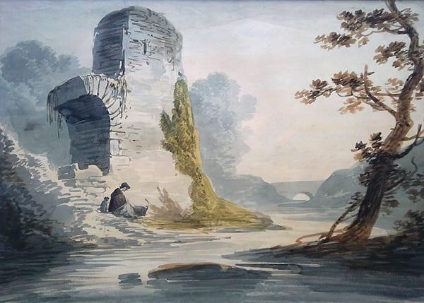 du siehst ein landschaftsbild von william payne