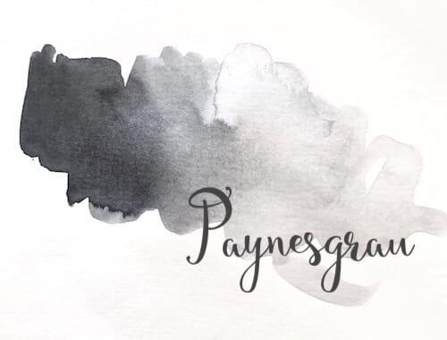 Du siehst eine Farbfläche in Paynesgrau