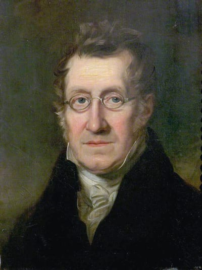 Du siehst ein Foto von William Payne, nach dem diese Farbe Paynesgrau benannt wurde.