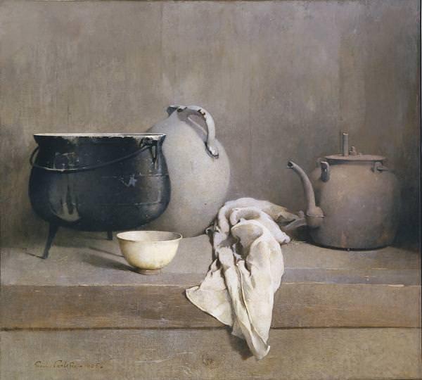 Hier solltest du das Bild Study In Grey sehen von Emil Carlsen