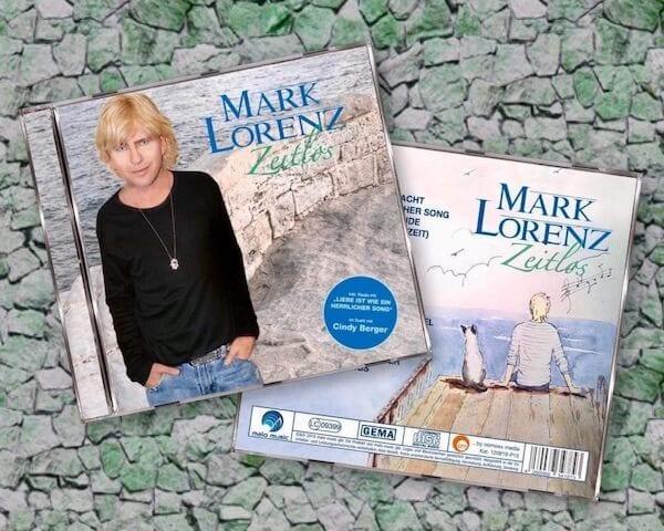 du siehst die neue CD von mark Lorenz Zeitlos