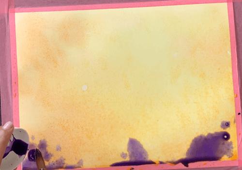 hier siehst du chinacridon violett für die schattigen Flächen