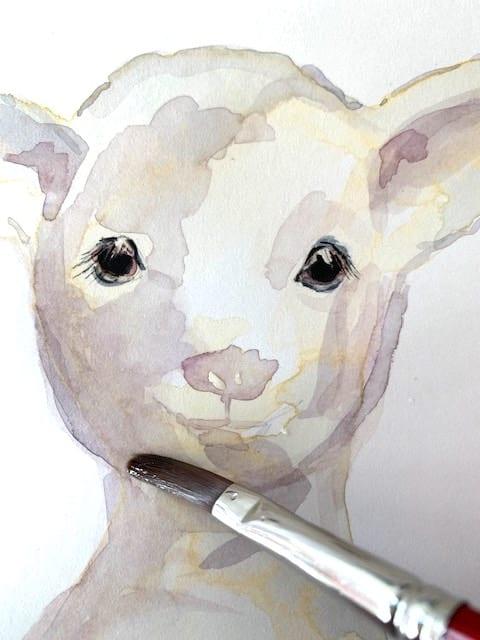 Tiere mit Aquarell malen ist einfach, wenn man die Lasertechnik beherrscht