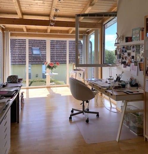 hier siehst du mein Atelier in der Steiermark