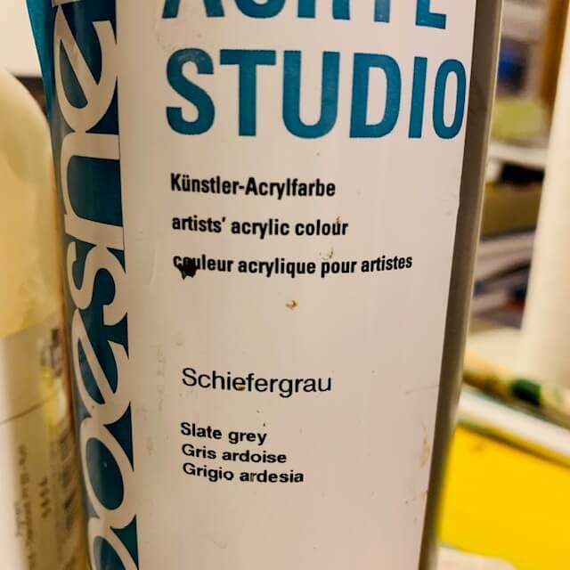 Schiefergrau von Boesner Studio