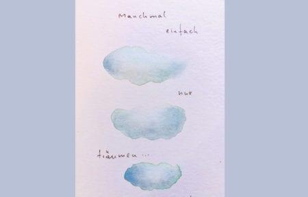 du siehst das cover des blogartikels ein Skizze der wolken