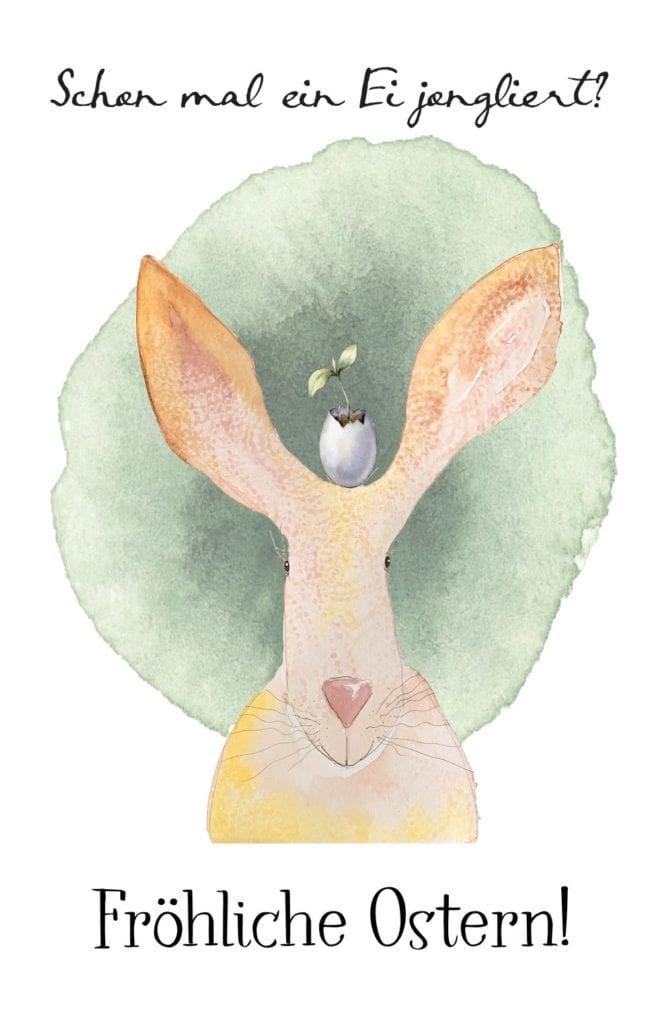 du siehst den Eier-Jongleur