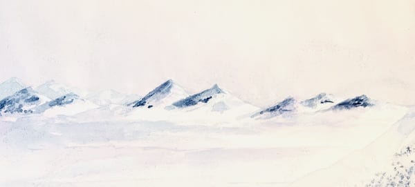 Die Berge der Arktis